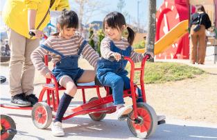 三輪車サーキット